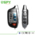 SPY two way LCD remote car alarm, LoRa technology super long range monitoring best two way car alarm system