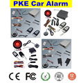 PKE GPS GSM car alarm system with remote start stop function