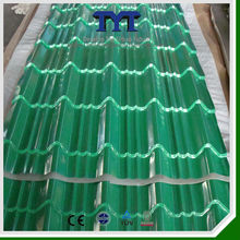 Professional Colorful Polyster Galvanized Stone Coated Metal Roof Tile/Roof Tile