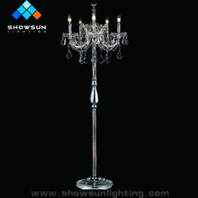 Chinese Modern standing chandelier candle holders