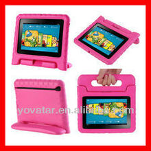 "Kids Friendly Safe Proof Thick Foam Case Handle Stand for Kindle Fire HD 7"" Inch"