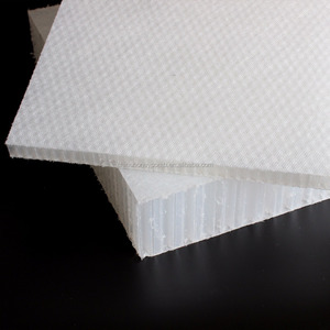 fibre glass PP honeycomb panel PP8T40 easy for resin laying,gluing