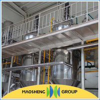 Hot sale refined soybean oil machine specification