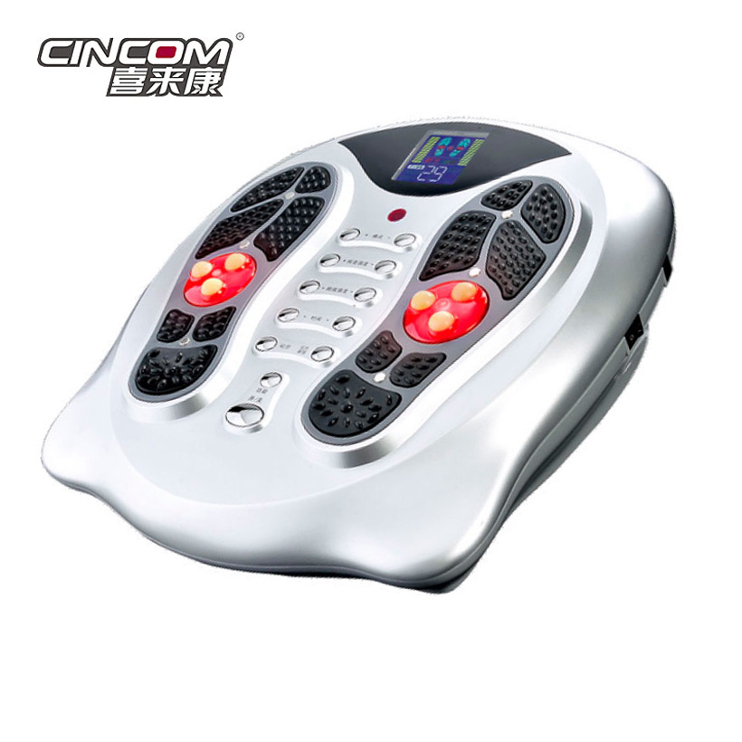 Wholesale Electric Pulse Foot Massager With Infrared Heating