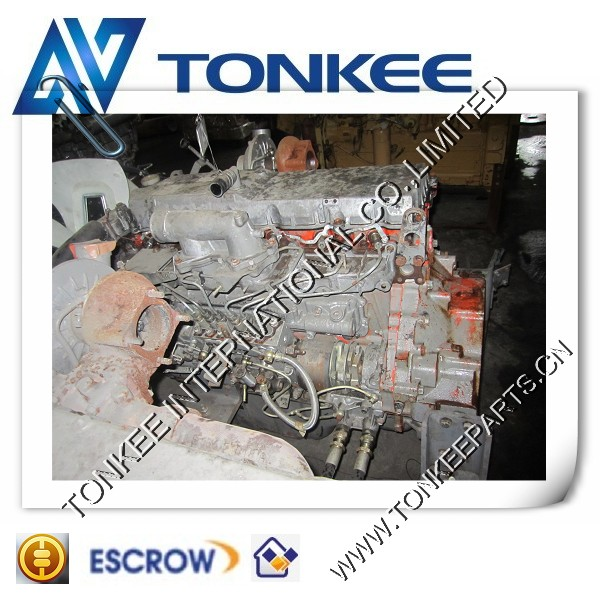 Construction Machinery Parts ZX300 AA-6HK1XQA engine 6HK1complete engine assy