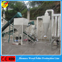 High efficiency wood pellet making line with cheap price made in China