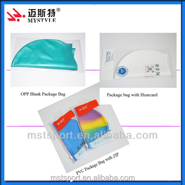 2015 professional custom silicone swimming cap