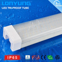 Factory Direct sale !! IP65 Tri-proof LED Light 50w 60w lamp tube 1.5m 5feet projector lamp