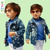 Wholesale Custom Kids Coats Denim Children's Jeans Coat