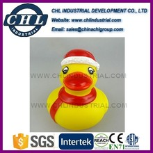 Christmas floating rubber duck manufacturer for children