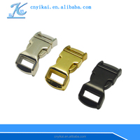 metal buckle with curved style quick lock buckle 1/2'' side release buckle