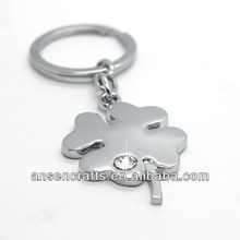 2014 hot sale Four Leaf Clover customized Key Ring