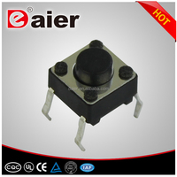 6x6 normally closed tact switch smd tactile switch