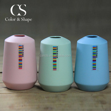 New coming multicolor porcelain art vase with competitive price
