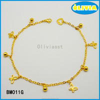 Guangdong Olivia gold clasp chain bracelets