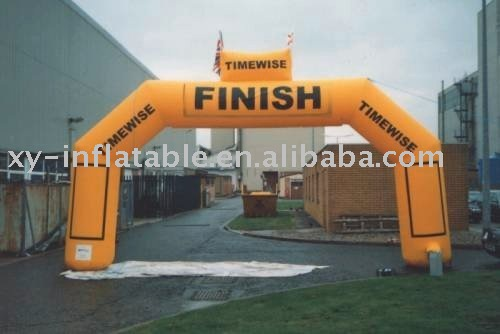 square inflatable finish line arch airtight inflatable archway for sport arch