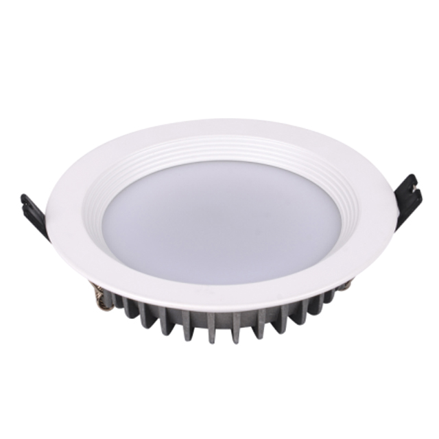 Antiglare frost cover COB 60D 9W 90mm led recessed downlight for home and shop