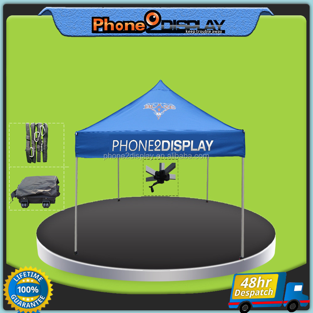 3*3 outdoor trade show display folding cinch canopy tent