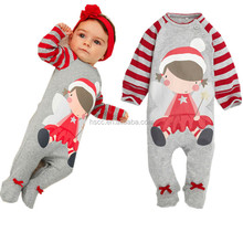 Good quality baby christmas dress baby toddler clothing newborn bubble romper clothes