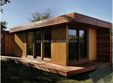 Luxurious container house standard prefabricated wooden container homes bungalow
