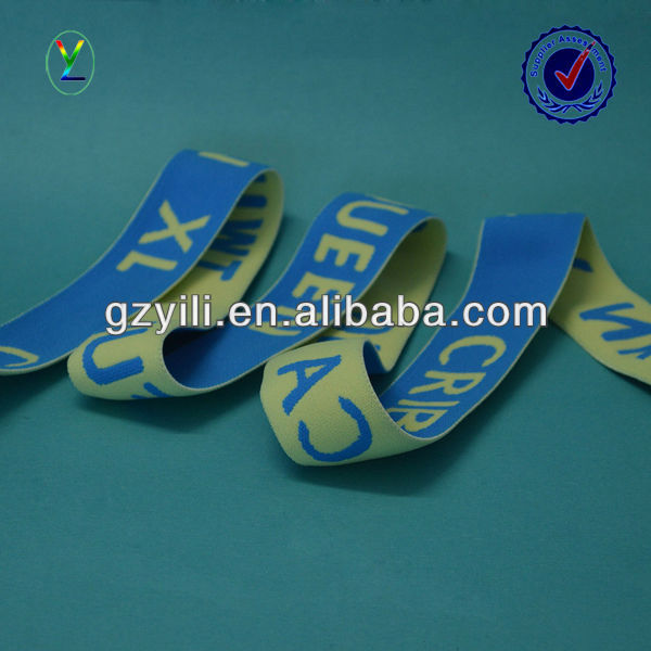 custom jacquard elastic webbing for underwear
