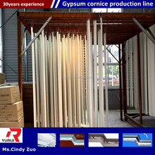 qualitied gypsum cornice production line/china gypsum cornice manufacture plant