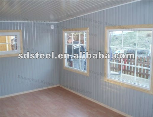 ISO&CE low cost prefabricated homes