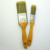 Lary factory supply stainless steel 3pcs Paint Brush Set with wooden handle