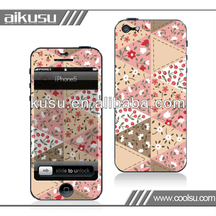 3ds skins cover 3m for iphone5 with so many design