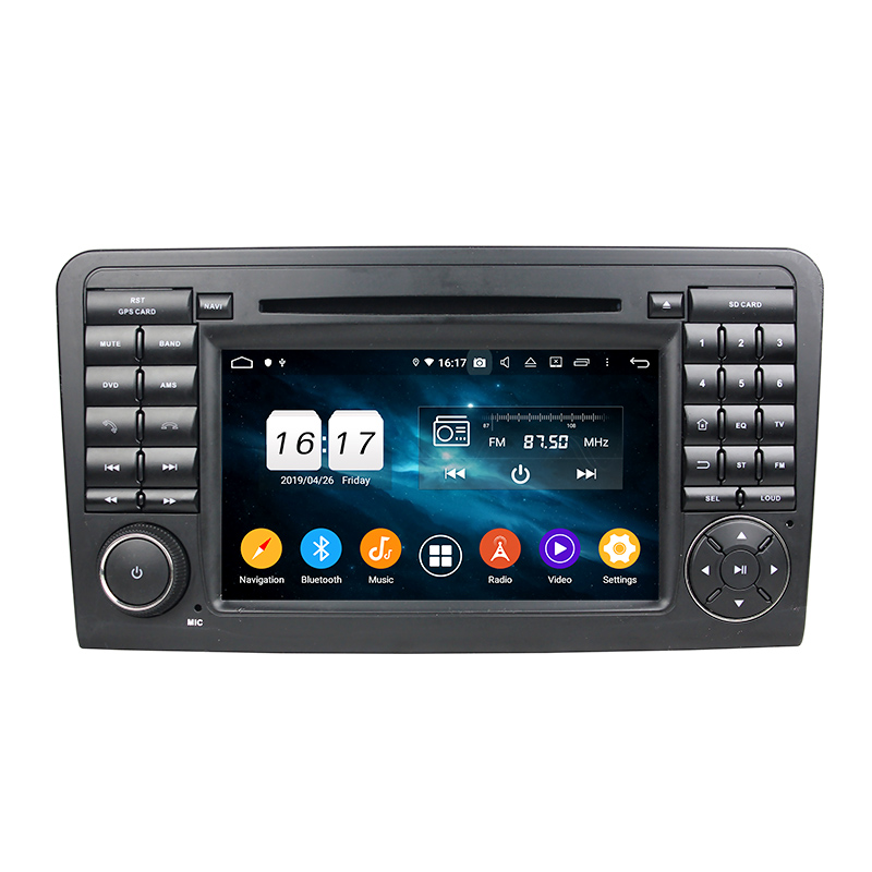 NaviHua Head Unit Android 9.0 car radio <strong>gps</strong> navigation for Mercedes Benz ML <strong>W164</strong> 2005-2012 Car Multimedia Player Navi Stereo