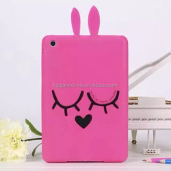 3D Animal Shape Bunny Silicone Tablet Case For iPad 2 3 4 5 6