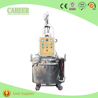 Chemical Double Jacketed Mixing Agitator Tank