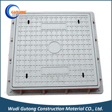 Standard Square Plastic Polymer Resin Sewer Drainage Manhole Cover