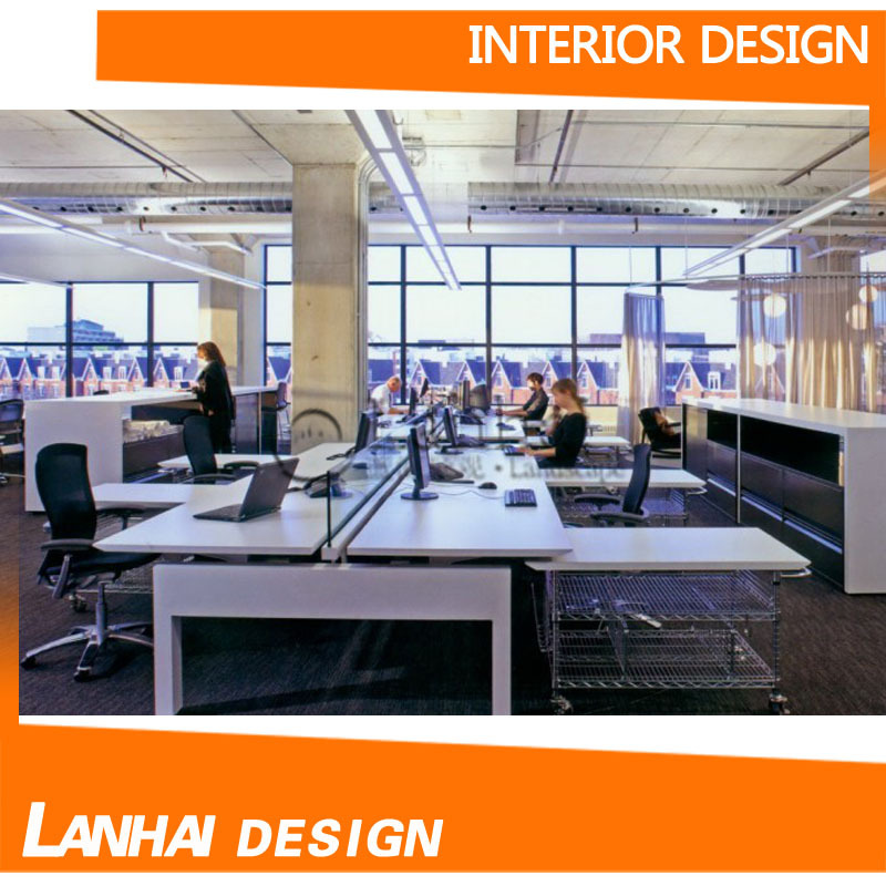 Simple Layout Plan Office Interior Design
