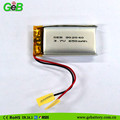 902040 3.7V 650mah lipo rechargeable Lithium Ion Polymer battery