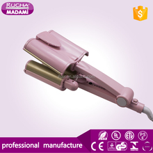 Japan Fashion Customized Ceramic Triple Big Waver Hair Curler