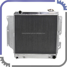 1987-2004 fit Jeep Wrangler YJ (GM V8 Conv.) aluminum Radiator