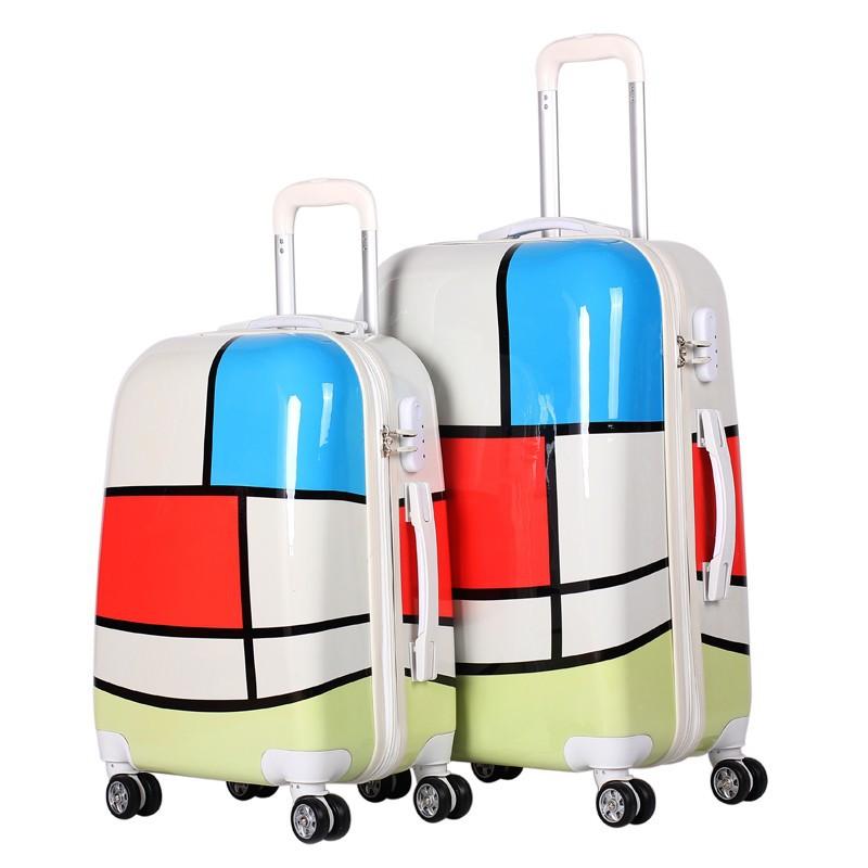 fashion design carry on hardside durable travel trolley. Black Bedroom Furniture Sets. Home Design Ideas