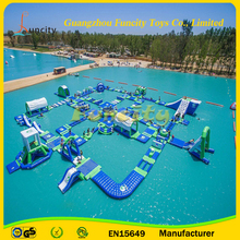 Funny Large Inflatable Water Park,2016 Sport Aqua Park,Inflatable Water Park Games