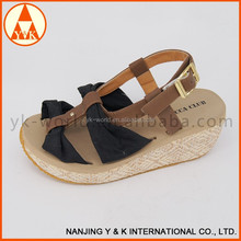 Hot Sale Cheap New Product 2016 latest women thick sole sandals
