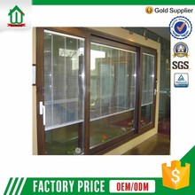 New Design , Double Glass ,PVC Sliding Door With King Kong