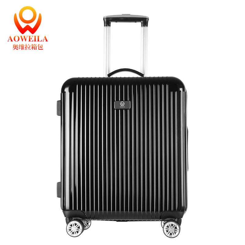 Carry On Oem Trolley Luggage Black <strong>Abs</strong>,Unbreakable Suitcase