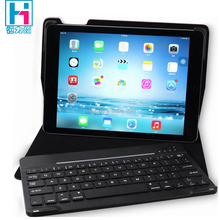 9.7 Leather Cover Bluetooth Keyboard For New iPad Bluetooth Keyboard With Leather Case For New iPad