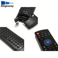 hot sale 2.4GHz Air Mouse MX3 Mini Wireless Keyboard & Infrared Remote Control & 3-Gyro + 3-Gsensor W USB Wireless Receiver
