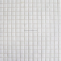 Modern house design chip size 20x20mm white glass mosaic tile, swimming pool glass mosaic, bathroom wall tiles glass mosaic (A3)