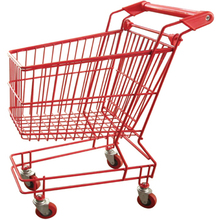Good price kid shopping trolley cart,folding shopping trolley cart for supermarket JS-TCT04