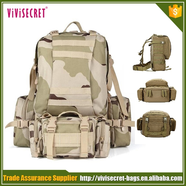 Cordura waterproof military backpack army climbing tactical gear bag