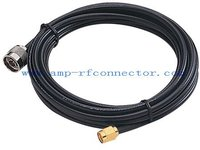 10 meter RF cable assembly / jumper cable N male to SMA male for CABLE wifi LMR195 LMR200