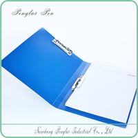 best selling PP File Folder/plastic ring binder/folder/Pocket Inside Portfolio