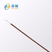 High resistant temperature silicone rubber insulated electric cable wire